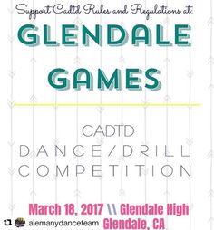 Tomorrow. Dance all day. Glendale High School #dance @alemanydanceteam