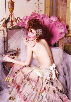 Peachy lingerie