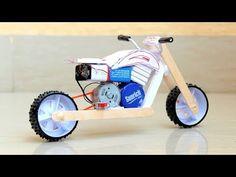 Awesome DIY bike - How to make - YouTube