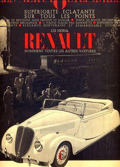 Renault vintage advertising retro poster 1936, illustration print https://www.etsy.com/listing/225665828/renault-vintage-advertising-retro-poster?ref=related-1&utm_content=bufferd3f75&utm_medium=social&utm_source=pinterest.com&utm_campaign=buffer #Etsymntt #a4team