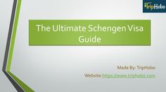 Check out this Schengen visa guide so you get to explore the best of Europe. Your answer to all the FAQ\'s for getting a visa and tips to avoid common mistakes everything is cover in this guide. https://www.triphobo.com/blog/schengen-visa