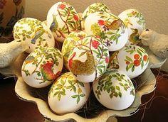 Napkin Eggs...