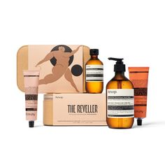 Enhance skin's natural beauty with Aesop The Reveller, a quartet of skincare favourites including a hand balm, hand wash, body cleanser and body balm. Typography Alphabet, Typography Fonts, Aesop Skincare, Muse Of Music, Brand Advertising, Organic Brand, Creative Typography, The Orator, Greek Mythology