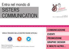The Geek Sisters: Blog di Sisters #Communication #comunicazione #eventi #socialmedia #promozione #graphic #design