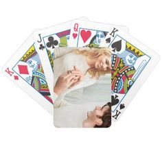 #Yuletide Engagement Bicycle Playing Cards - #wedding gifts #marriage love couples