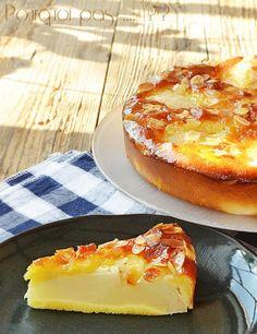 Pourquoi pas .... ??: Gâteau poire / amandes / hysope