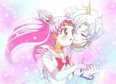 chibi Moon and Helios
