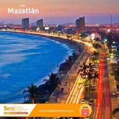 El Malecón de Mazatlán es considerado uno de los más largos de mundo. En él se pueden apreciar los hermosos atractivos de Mazatlán como son sus playas atardeceres y el mar. Reserva hoteles en Mazatlán en: http://ift.tt/1X8G108