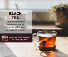 The health benefits of black tea include its beneficial impacts on high cholesterol, diarrhea, tooth decay, low-concentration levels, and digestive problems. It is also good for improving blood circulation and treating high blood pressure and asthma. It is one of the most popular teas known to man and is well-known for its medicinal qualities. Continue your path into the hidden nature with Hidden Nature Organic Turmeric Curcumin on SALE  on Amazon ➡️ https://goo.gl/1kMhUD