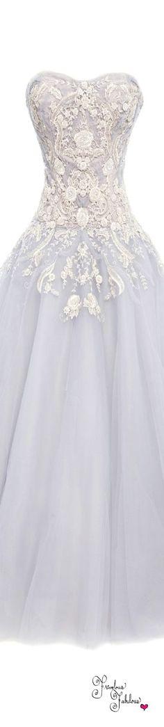 Frivolous Fabulous - Marchesa Spring Summer 2016 Wedding Gown Inspiration