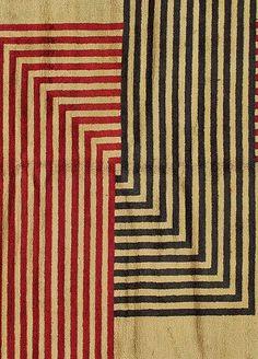 Vintage French Art Deco Rug by Marion Dorn at 1stdibs