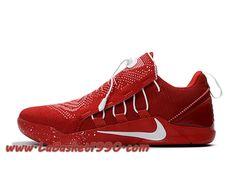 brand new f5814 a2ed1 Nike Kobe AD NXT ID 882049 ID004 Chaussures Nike Prix Pas Cher Pour Homme  Rouge Blanc Chaussures