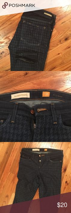 Anthro pilcro legging jeans with some funk Gently used Anthropologie Jeans Skinny