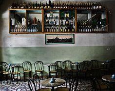 Bar in Asmara, Eritrea by Eric Lafforgue, via Flickr  (like many bars in Addis Ababa)