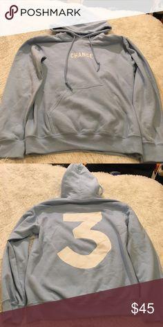 04e014cff2c0 3️⃣ Chance the Rapper Hoodie 3️⃣ Chance the Rapper Hoodie. Barely worn.  Size Small
