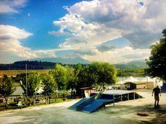 Skatepark & Wakepark !