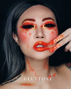 3/7: GLUTTONY/ an emotional escape. A sign that something is eating us