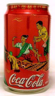 Cambodia coca cola 2002 Water Festival can by roitberg, via Flickr