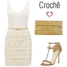 """Crochê"" by gessilene-ferreira on Polyvore"