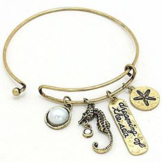 Bangle Bracelet Dreaming of the Sea Charm Gold Burnished Surfside Jewelry http://www.amazon.com/dp/B01D1R1T2G/ref=cm_sw_r_pi_dp_7yF9wb1ZHFCYX