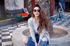 Fashion blogger Negin Mirsalehi