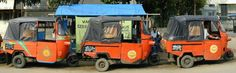 Click the photo to read about the Bajaj, a mode of transport in Indonesia. #VIND12
