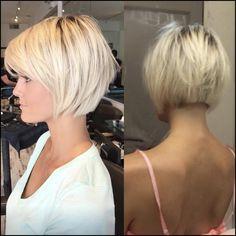 10 Best Short Straight Hairstyle Trends - Women Short Haircut ... #Frisuren #HairStyles 30+ Amazing Asymmetrical Bobs Hairstyles 2018