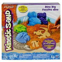 Kinetic Sand Wykopalisko dinozaurów 340 g