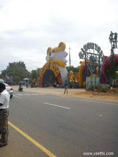 MGM Dizzee World roadside view, near Chennai