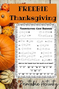 This FREE Thanksgiving code breaker is perfect practice for addition and multiplication. It is a fun way to practice the basic skills for 3rd grade for centers, homework, morning work, or any other time of day! Grab your FREEBIE today! #math #3rdgrade #thanksgiving #fallactivity #fallmath