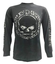STDONE Funny Tee Kawasaki Motorcycle Logo Long Sleeve T-Shirts for Mens Black