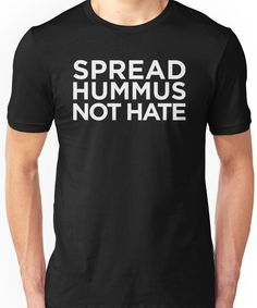 Spread Hummus Not Hate Vegetarian Vegan Plant Food Avo Kids T-Shirt