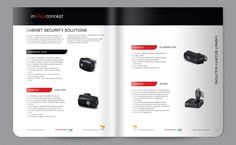catalogue Security Solutions, Catalog, Design, Brochures