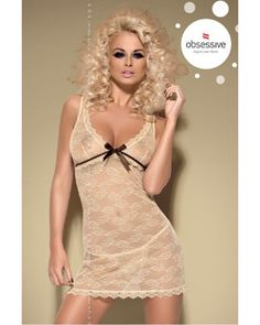Caramellla Chemise - Obsessive   Nuisette sexy http://www.avenue-privee.com/nuisette-sexy-pas-cher/20956-caramellla-chemise-obsessive.html