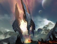 Concept artist and illustrator A.J. Trahan has released concept art for Halo 4 which he created while working at Certain Affinity. A.J. has also worked on video game titles such as Epic Mickey and BlackSite: Area 51.
