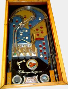 Flipper Pinball, Penny Arcade, Arcade Machine, Vintage Games, The Good Old Days, Arcade Games, Game Room, Board Games, Chicago
