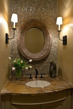 Traditional Powder Room - Found on Zillow Digs
