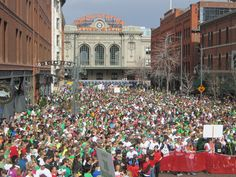 Runnin of the Green Lower Downtown Denver March 11 2012.  www.rotg.org  Registration open now to reserve your place for St Pattys Day 2013.