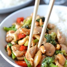 Chinese Cashew Chicken   @simplywhisked