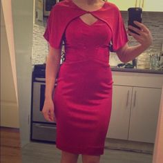 NWT Zac Pozen red dress size 6 Gorgeous Original Zac Posen. Not Zspoke or the cheaper sister brands. Figure fitting with a little stretch. May also fit a a size 4. New with tags. Retails $990. Material has a satin like finish. Zac Posen Dresses