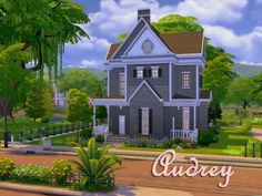 The Sims Resource: Audrey Residential house by Alan-is • Sims 4 Downloads