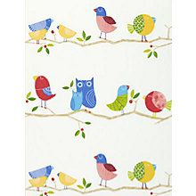 Buy Multi, 70517 Harlequin What a Hoot Wallpaper from our Wallpaper range at John Lewis & Partners. Harlequin Wallpaper, Kids Wallpaper, Multicoloured Wallpaper, Attractive Wallpapers, Wallpaper Companies, Wallpaper Online, Cream And Gold, Victorian Homes, Soft Furnishings