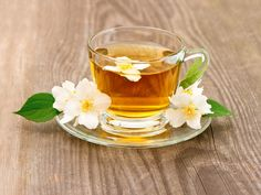 Check out Cup of tea with jasmine flowers by LiliGraphie on Creative Market