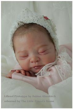 REBORN PROTOTYPE Lillesol Sabine Altenkirch baby girl doll