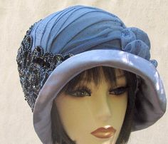Vintage Reproduction Cloche Hat  Custom Order for ♥ by BuyGail
