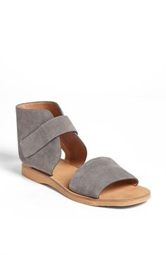 Vince sandals. soft and suede-y