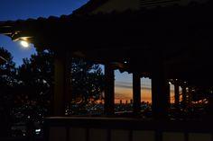 Yamashiro at night.