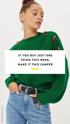 As we head towards autumn and the inevitable wardrobe switchover, we're on the lookout for transitional pieces that ease us into the new season. And if there's one standout piece that seems to be making waves right now, it's undoubtedly the colourful jumper.