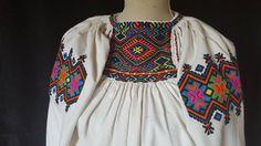 Romania, Folk Art, Savoury Recipes, Costumes, Knitting, Blouse, Traditional, Clothes, Beautiful