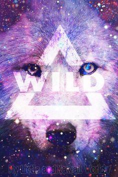 wolf wallpaper by MyLittleNKawaiiWorld